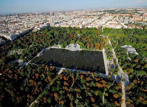 Parques del centro de Madrid cerca de Ferretería Restaurante 1